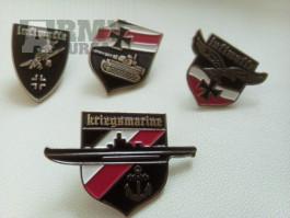 Německé odznaky ww2