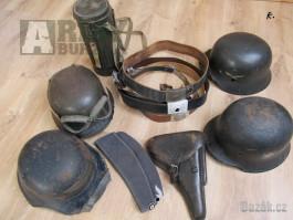 Staré militarie-koupím
