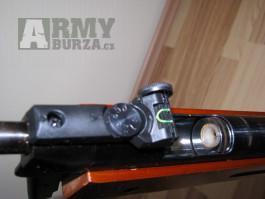 Vzduchovka B-3-3, puškohled, diabolky