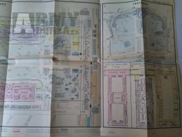 mapa výstaviště v Paříži Světová výstava 1889