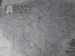 mapa Čechy