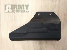 Vnitřní pouzdro na Glock 19 - OWB G19 APLC plný coy černá, speed 45mm