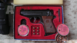 Walther PPK 4mmM20 flobert