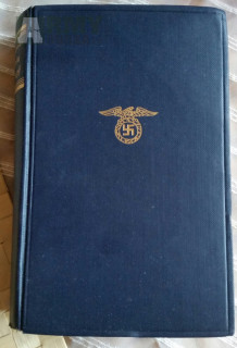 Mein Kampf - starý německý originál r.1941