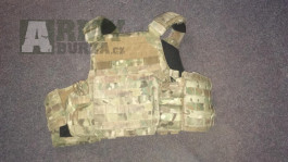 Nosič plátů Warrior DCS multicam + měkká balistika