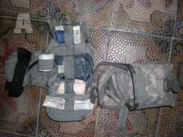 U.S. Army ACU Medic IFAK CAT  US molle II