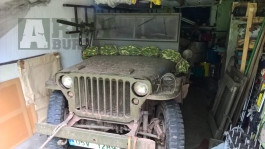 Lafetace jeep willys, gpw, browning