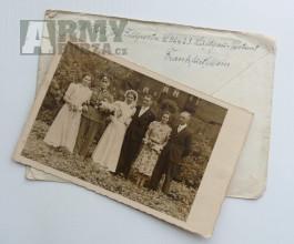 Feldpost + fotografie Wehrmacht Flak