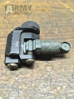 M4 sklopné zadní mířidlo