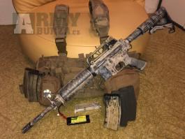 M4 Specna 130m/s + vesta se sumkama