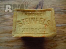 Staré švýcarské mýdlo zn. Steinfels - sběratelský kousek