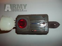 Vojenská čtyřbarevná svítilna
