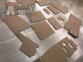 Koupím sadu koberců/podlahových izolací do HMMWV