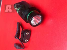 Baterka 90 Lumenu +lovecký laser zelený