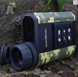 LASERWORKS LRNV009 - Infračervené vojenské noční vidění, laserový dálkoměr, 6x32 zoom
