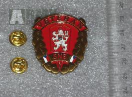 Odznak Veterán SNB , odznaky