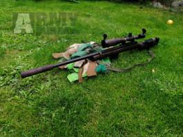 Sniper vybava, možno vyměnit za elektroniku