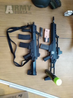 We G39k GBB, G36C AEG, L96 full, Colt 1911