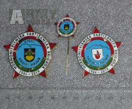 Partyzánské odznaky