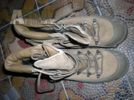 US army combat hiker boots boty horské Bates GORE-TEX coyote