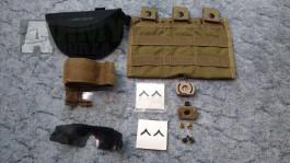 USMC ranks / PFC / ESS ICE / Princeton Tec / COYOTE / Eagle Industries / pouch / sumka  / weapon catch / pouzdro / case