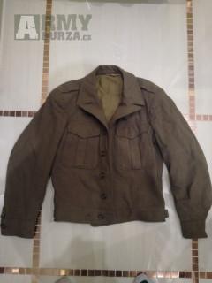 Prodám Battledress z roku 1944 -skladovka, Kabáty ČSLA