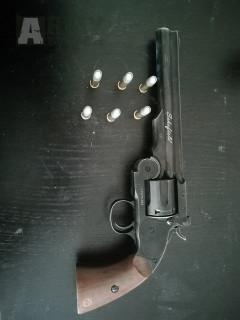 """ASG Schofield 6"""" revolver co2"""