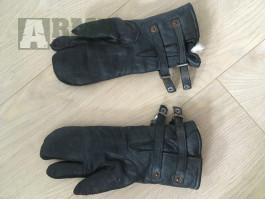 Německé pilotní rukavice Luftwaffe originál kožené LW