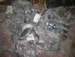 ACU UCP US sumky pouch různé druhy U.S Army