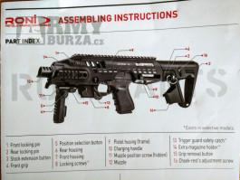 CAA RONI carbine conversion