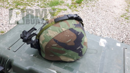 US helm cover woodland