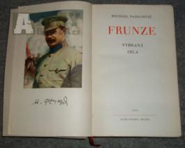 Rudá armáda - M.V.Frunze: Vybraná díla (1918-1925)