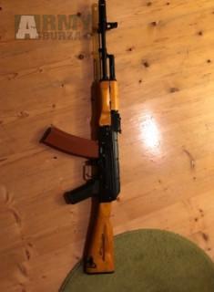 Cyma AK 74 ve dřevě