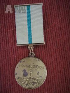 Pamětní medaile  60.výročí osvobození Leningradu z blokády