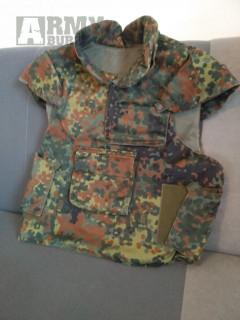 Neprůstřelna vesta armády Bundeswehr originál Splitterschutzweste