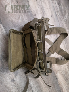 Flat pack batoh + D3CRM mini chestrig