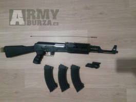 Prodám ak-47 Cm.042A tactical super stav