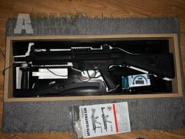 MP5A4, RIS, Cyma + akumulátor 9,6 V + nabíječka