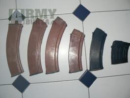 Zásobníky AK74,SVD,TT,PM61