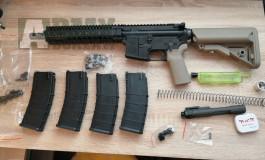 GHK Colt MK18+ TNT APS-x set