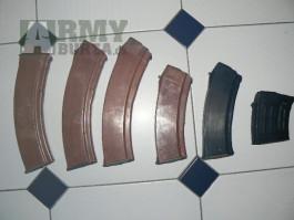 zásobníky AK74,RPK74