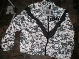 US Army UPC sportovní bunda a kahoty SKILCRAFT ACU IPFU PFU