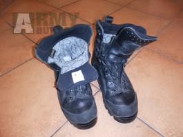 Goretex vysoká obuv PRABOS - černé