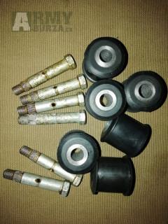 Gaz 69 - silentbloky a šrouby pákových tlumičů