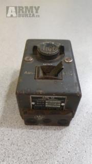 Rozvodná skrinka s požiadavkou na palubný rádiový systém FuG