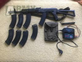 Prodam AK-74, homemade kit na vss, dily do kalacha
