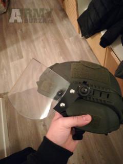 Prodám airsoft riot helmu se sklopným štítem