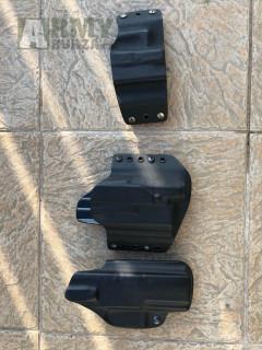 Kydexová pouzdra Glock, SIG P320, CZ P10C, levostranná