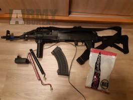 AK-47 RIS Tactical, kov, Cyma, CM.039C 130 m/s