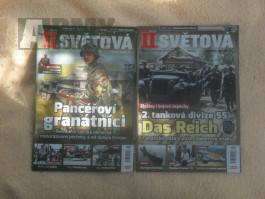časopisy s vojenskou temátikou